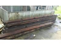 Timber batons