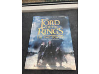 LORD OF THE RINGS TWO TOWERS VISUAL GUIDE BOOK