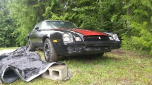 1981 Camaro Berlinetta Project
