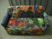 Children's Justice League Sofa (Superman, Batman, etc.)