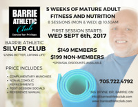 Barrie Athletic's SILVER CLUB - Programming for Mature Adults