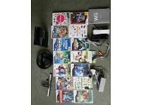 Nintendo Wii console plus games, excellent working condition.