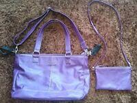 Mia Tui Purple Emma Changing Bag