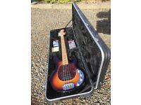 MusicMan Stingray 3 EQ Bass mint condition