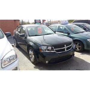 2008 DODGE AVENGER RT - LOADED! LEATHER, CHROME RIMS - CERT/EMIS