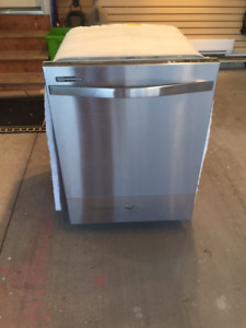 New Whirlpool Stainless Steel Dishwasher
