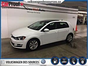 2015 Volkswagen Golf 2.0 TDI Comfortline, TOIT PANORAMIQUE
