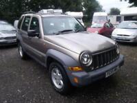 2006 Jeep Cherokee 2.4 Sport 5dr 5 door Estate