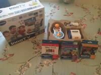 InnoTv console with box - includes 3 additional games in boxes also - perfect condition - £35