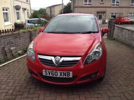 Lovely red corsa, in good clean condition. Mot till February 2018