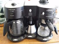 Morphy Richards Mister Cappuccino coffee maker and milk frother