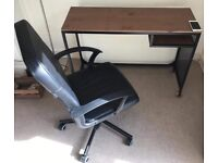 Quick sale- office desk and chair