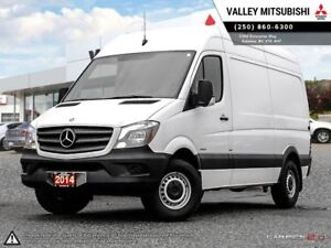 2014 Mercedes-Benz Sprinter High Roof 4cyl-2.1 TURBO DIESEL, CUS