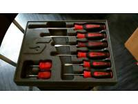 Snap On Screwdrivers and case
