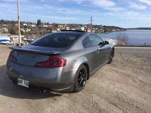 Infiniti G35 coupe with navigation, brembo and aero package