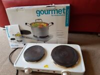 Gourmet hob/ double boiling ring