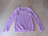 Boden pink jumper, size 12