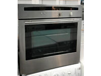 N194 stainless steel neff single electric oven comes with warranty can be delivered or collected