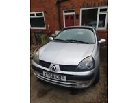 Renault clio 56 plate low milage