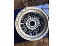 Wire spoke wheel - MG