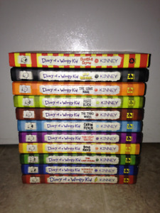Hardcover Diary Of A Wimpy Kid Books 1-11