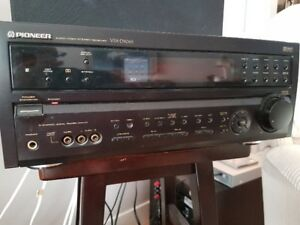 Pioneer Audio/Video Stereo Receiver / SW and speakers
