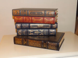 Franklin Library Limited Edition Leather Books