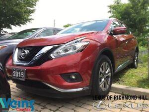 2015 Nissan Murano SL AWD/NAV/PANO ROOF