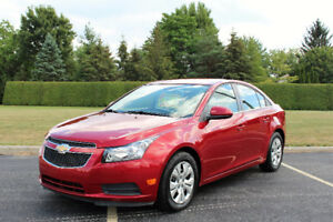 2014 Chevrolet Cruze LT Sedan*Low KM***Factory warranty**