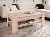 Wooden Coffee Table In sand oak finish