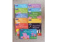 12 Peppa pig books