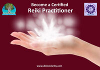 Combined Reiki Certification Levels 1 & 2