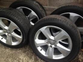 Audi original alloy wheels 18 inch