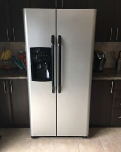 Frigidaire Stainless steel fridge and stove