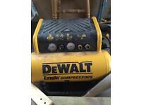 Dewalt compressor and brad nailer