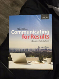Communicating for Results - Third Edition