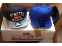 BNWT Starter Baseball Caps blue and black colours
