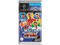 Match attax 2016/2017 football cards
