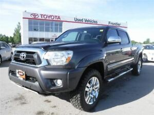 2013 Toyota Tacoma LIMITED *Leather\Heated Seats\Chrome Alloy Wh