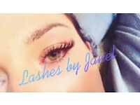 Beautiful Semi permanent Lash extensions by Janel: Full set of Individuals £40 this month!!