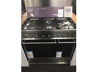Smeg 6 Hob Range Cooker 90cm cost £999 new
