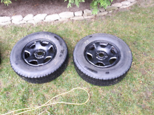 Ford Escape 2008-12 Winter tires and rims