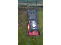 Mountfield self-propelled petrol lawnmower