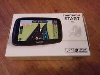 TomTom START 50 5 Inch Sat Nav Full Europe Lifetime Maps - BRAND NEW