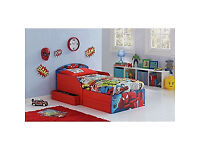 Spider-Man Toddler Bed with Drawers