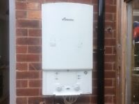 Worcester 30si Combi with horizontal flue