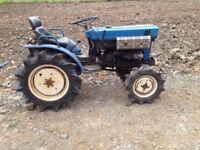 Iseki 4x4 TX1500F tractor with Iseki 1100mm Rotavator - £1500