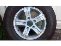 """Kia Sorento (2003-2009) 16"""" alloy wheel"""
