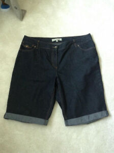 Jean Shorts Brand Contrast