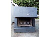Trianco international multi fuel stove. Burns wood or coal
